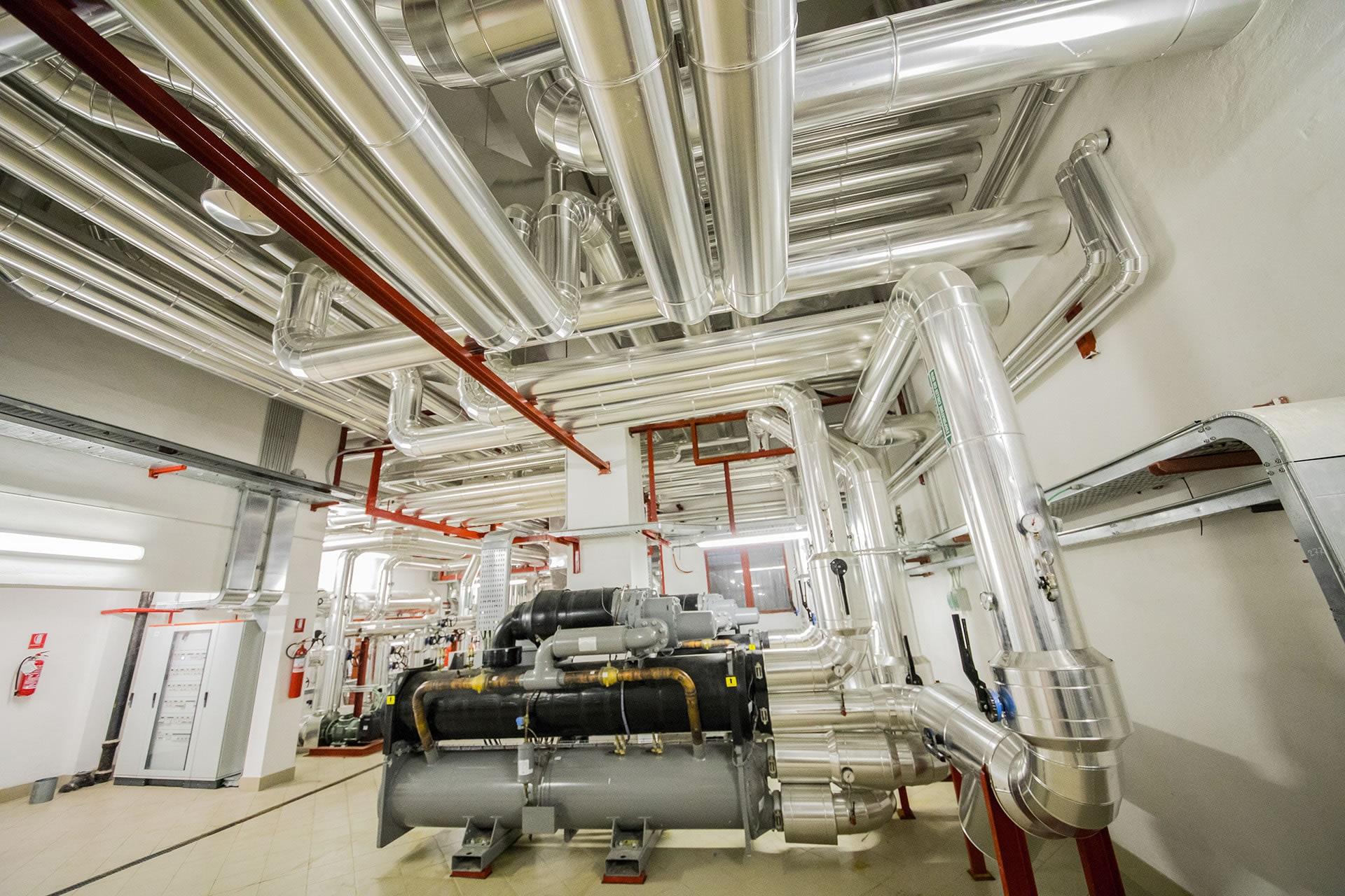 Impianti termoidraulici industriali